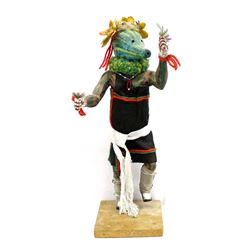Hopi Patun Mana ''Squash Lady'' Kachina, Collateta
