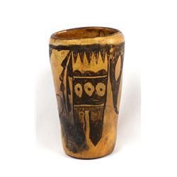 Historic Hopi Pottery Cylindrical Jar