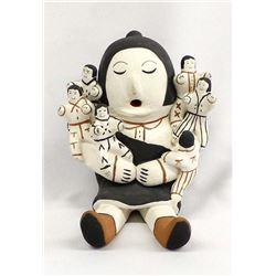 Cochiti Pottery Storyteller by Rufina Trujillo