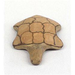 Hopi Pottery Turtle by Isaiah Sahmie