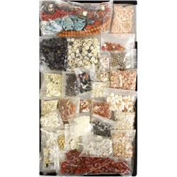 Large Collection of Beads
