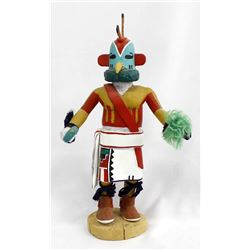 1982 Hopi Rooster Kachina by Elidia Chapella