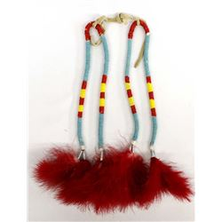 Pueblo Bead and Feather Dance Wands