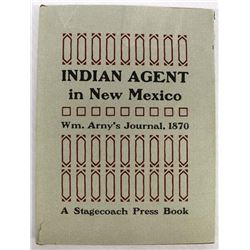 Indian Agent William F. M. Arny's Journal, 1870