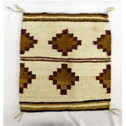 Navajo Block Cross Wool Textile