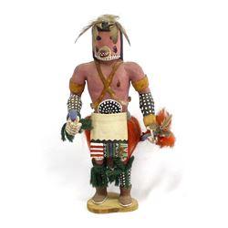 Hopi Bear Kachina by Joe Coochyamptewa