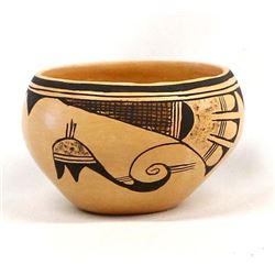 Hopi Pottery Bowl by Treva Burton