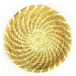 Native American Tohono O'odham Shallow Basket