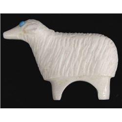 Navajo Carved Marble Sheep Fetish