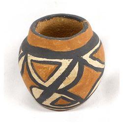 San Felipe Pottery Jar by D. Sandoval