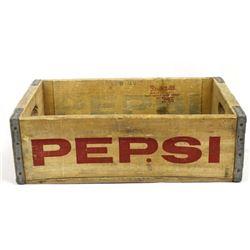 Vintage Wooden Pepsi-Cola Crate