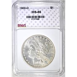 1900-O MORGAN DOLLAR, RNG GEM BU
