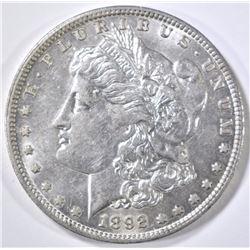 1892-O MORGAN DOLLAR AU/BU