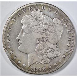 1896-S MORGAN DOLLAR VF