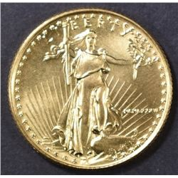 1986 BU 1/4 oz GOLD EAGLE