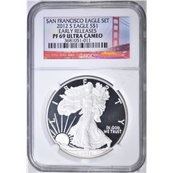 2012-S ASE EARLY RELEASES NGC PF-69 ULTRA CAMEO