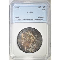 1899-O MORGAN DOLLAR  NNC SUPERB GEM +