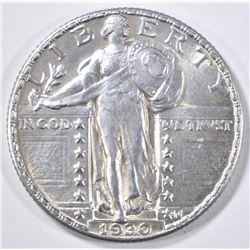 1930 STANDING LIBERTY QUARTER  BU  FH