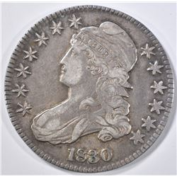 1830 BUST HALF DOLLAR  XF/AU