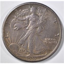 1917-S REV WALKING LIBERTY HALF DOLLAR CH ORIG UNC