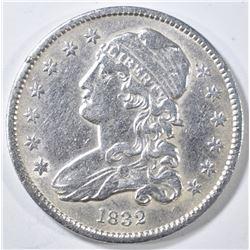 1832 BUST QUARTER  AU