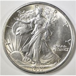 1917 WALKING LIBERTY HALF DOLLAR   CH/GEM BU