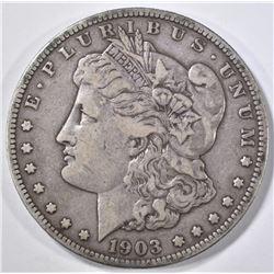 1903-S MORGAN DOLLAR, VF