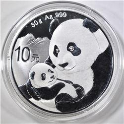 2019 30g CHINESE SILVER PANDA