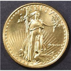 1986 BU 1/4 OUNCE GOLD EAGLE