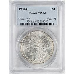 1900-O $1 Morgan Silver Dollar Coin PCGS MS63