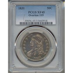 1831 Capped Bust Half Dollar PCGS XF45