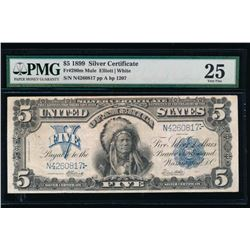 1899 $5 Chief Silver Certificate PMG 25