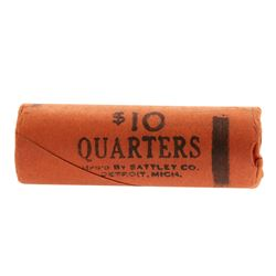 Roll of (40) Brilliant Uncirculated 1957-D Washington Quarter Coins