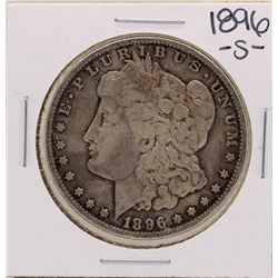 1896-S $1 Morgan Silver Dollar Coin