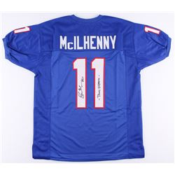 "Lance McIlhenny Signed Jersey Inscribed ""Pony Express"" (JSA COA)"