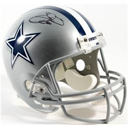 Emmitt Smith Signed Cowboys Full-Size Helmet (Smith Hologram)