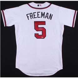 Freddie Freeman Signed Braves Jersey (MLB Hologram)