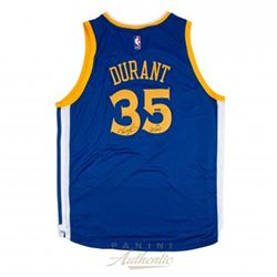 "Kevin Durant Signed LE Golden State Warriors Authentic Swingman Jersey Inscribed ""GSW"" (Panini COA)"