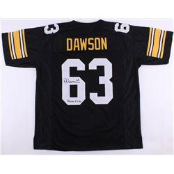 "Dermontii Dawson Signed Steelers Jersey Inscribed ""Steeler 4 Life"" (JSA COA)"
