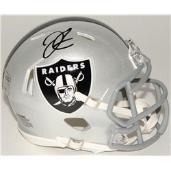 Derek Carr Signed Raiders Speed Mini-Helmet (Radtke COA)