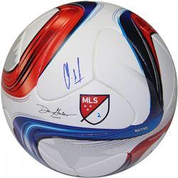 Clint Dempsey Signed 2015 Adidas Nativo Match Soccer Ball (Steiner COA)