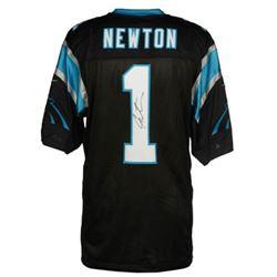 Cam Newton Signed Panthers Jersey (Fanatics Hologram)