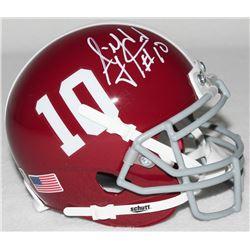 AJ McCarron Signed Alabama Mini-Helmet (Radtke COA)