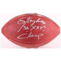 """Lawrence Taylor Signed Official NFL Game Ball Inscribed """"SB XXV Champs"""" (Radtke COA)"""