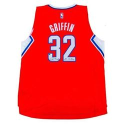 """Blake Griffin Signed Clippers Limited Edition Jersey Inscribed """"10-11 ROY"""" (Panini COA)"""