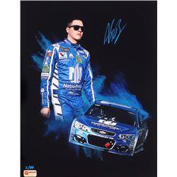 Alex Bowman Signed NASCAR #88 Limited Edition 11x14 Photo #/88 (PA COA)