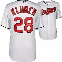 Corey Kluber Signed Indians Jersey (Fanatics Hologram  MLB Hologram)