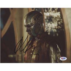 "Karen Gillan Signed ""Guardians of the Galaxy"" 8x10 Photo (PSA COA)"