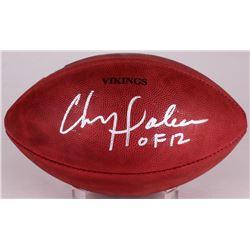 """Chris Doleman Signed """"The Duke"""" Official NFL Game Ball Inscribed """"HOF 12"""" (Radtke COA)"""