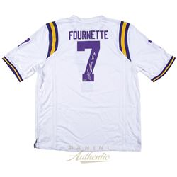 Leonard Fournette Signed LSU Tigers Jersey (Panini COA)